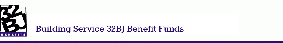 32bj benefit funds about the funds